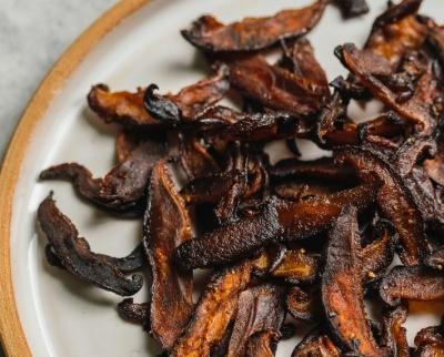 Shitake bacon