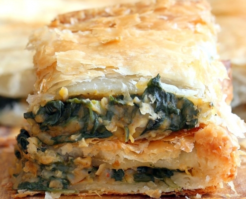 Moroccan Spinach Pie