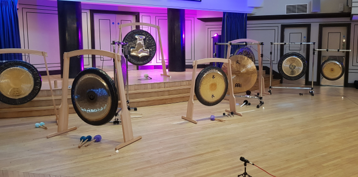 Gongs Set Up for Level 2