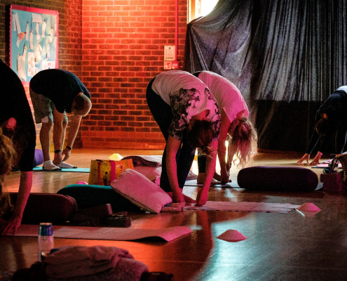 Yin Yoga & Gong